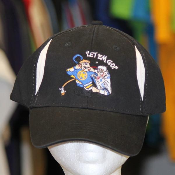 Hockey Fighter Let em' Go CONTRAST DIAMOND INSET TWILL CAP