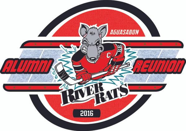 Aguasabon River Rats Hockey Alumni Reunion T-shirt