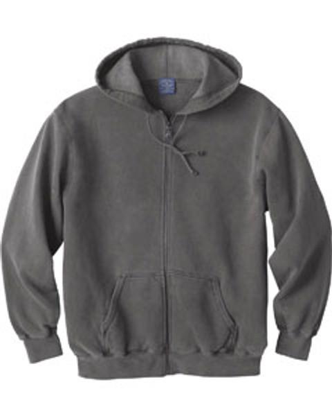 Ash City Vintage Hooded sweatshirt - Colour COAL size Medium