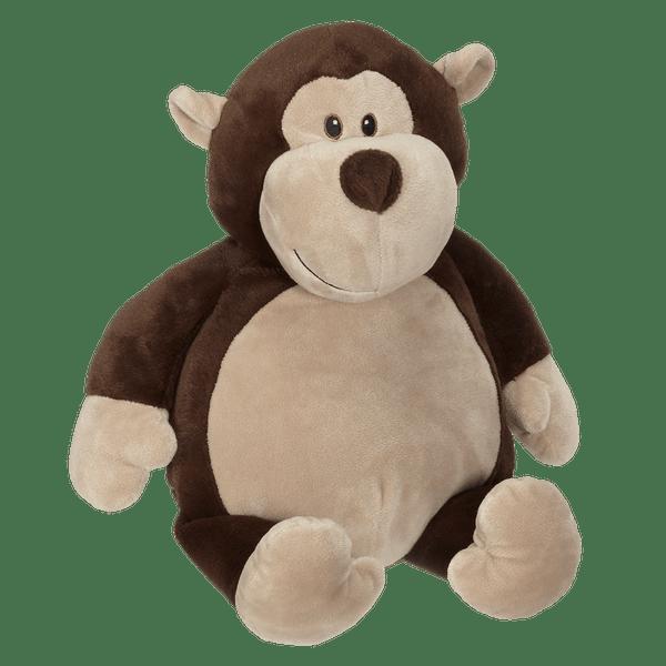 Monty Monkey Buddy Personalized  Embroidered – 16″ Stuffed Animal