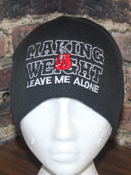 Making weight - Boxing MMA Mixed Martial arts knit skull beanie toque
