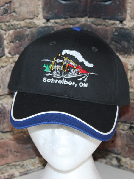 Souvenir CPR (Canadian Pacific Railway) Hat another Pisscutter Schreiber Hat by Hollywood Filane