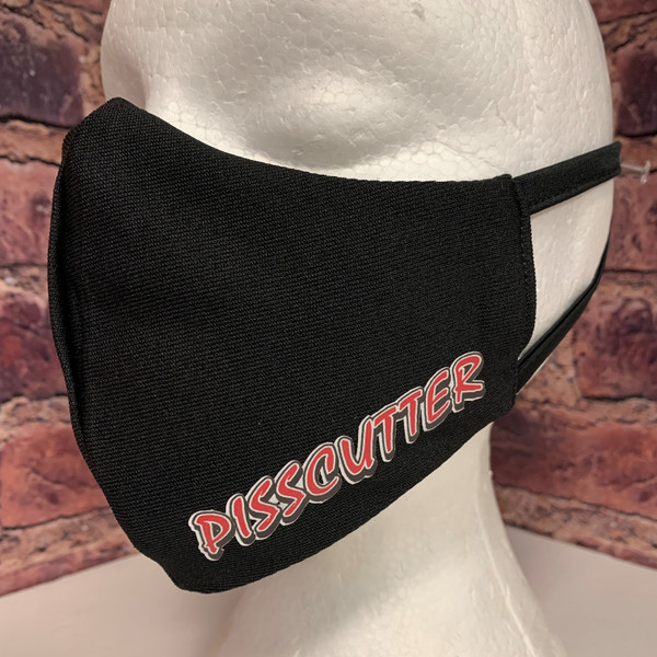 PISSCUTTER - Reusable Fabric Face Masks