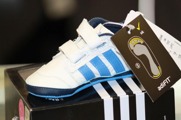 Adidas Liladi 4 Crib shoes-Blue