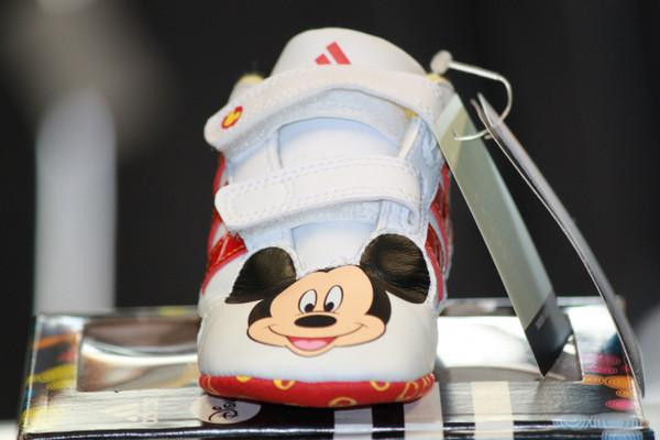 Adidas Disney Crib shoe- Red