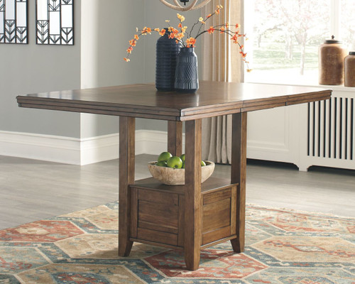 Ashley Flaybern Brown Rectangular Counter EXT Table