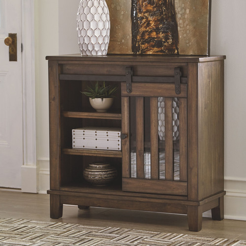 Ashley Brookport Brown Accent Cabinet