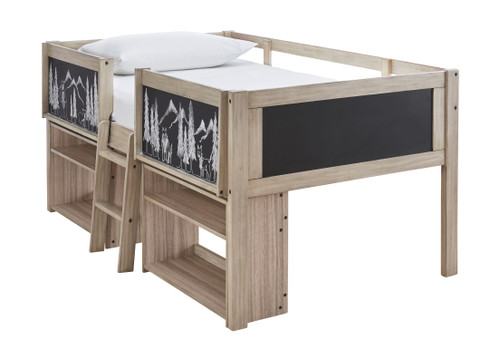 Ashley Wrenalyn Two-tone Under Bed Bookcase (2/CN)