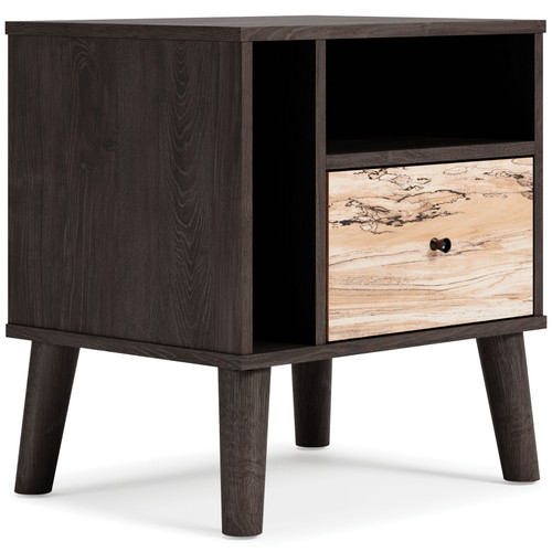 Ashley Piperton Two-tone One Drawer Night Stand