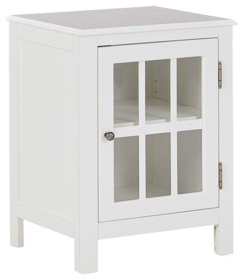 Ashley Opelton White Accent Cabinet