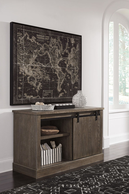 Ashley Luxenford Grayish Brown Large Credenza