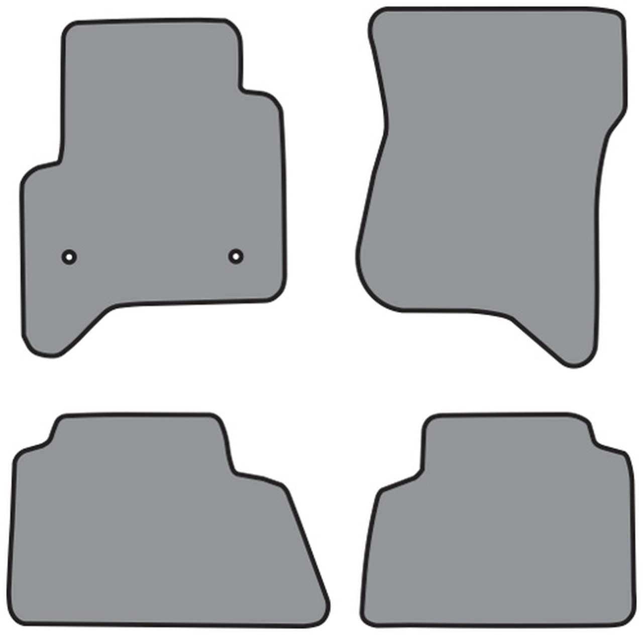 2015 2017 Gmc Yukon Denali Floor Mat 4pc Cutpile Fm369 Fm369r
