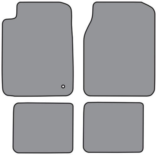 2001-2006 Chrysler Sebring Floor Mat 4pc Cutpile (FM315F, FM18R)