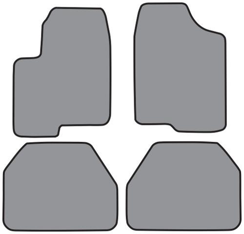 2001-2005 Pontiac Aztek Floor Mat 4pc Cutpile (GM284, GM284R)