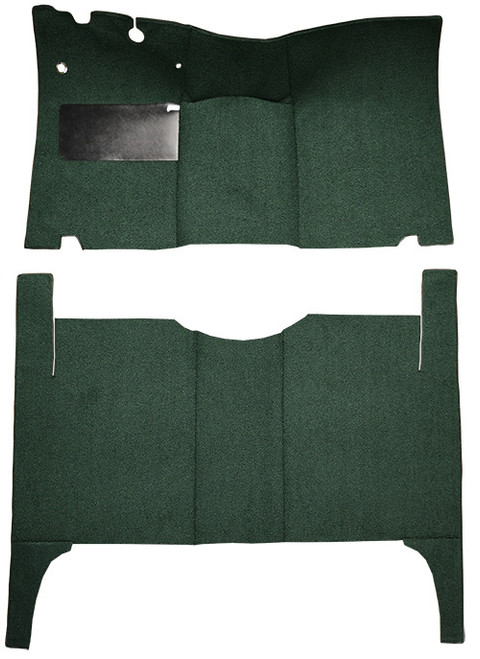 1952-1954 Ford Customline 4DR Sedan Carpet