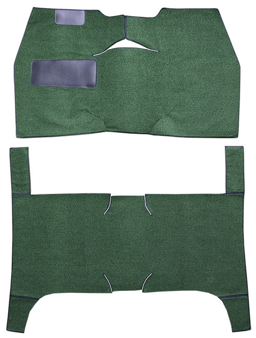 1949-1952 Chevrolet Styleline Deluxe 4DR Sedan Bench Seat Carpet