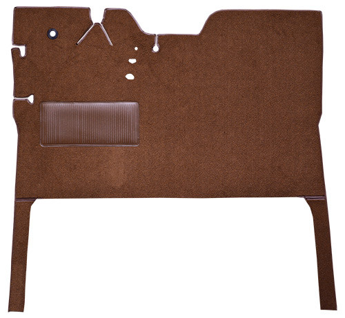 1947-1954 Chevrolet Truck Reg Cab Front with Side Extensions Carpet