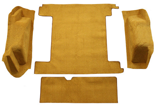 1966-1973 Ford Bronco Cargo Area 2 Gas Tanks Carpet