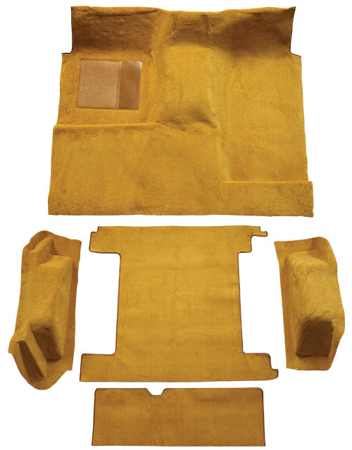 1966-1973 Ford Bronco 2 Gas Tanks Complete Carpet