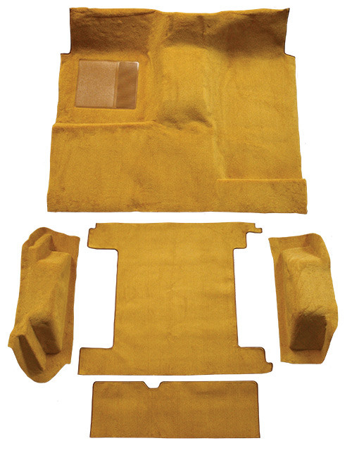 1974-1976 Ford Bronco 2 Gas Tanks Complete Carpet