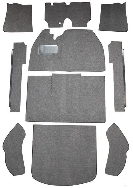 1974-1977 Volkswagen Beetle 2DR Sedan Flat Front Carpet