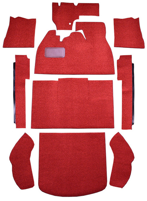 1974-1977 Volkswagen Beetle 2DR Sedan Slant Front Carpet