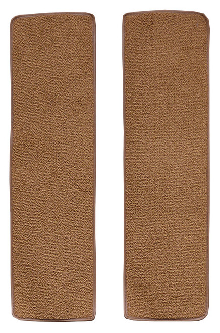 1948-1952 Ford F2 Door Panel Inserts without Cardboard 2pc Carpet