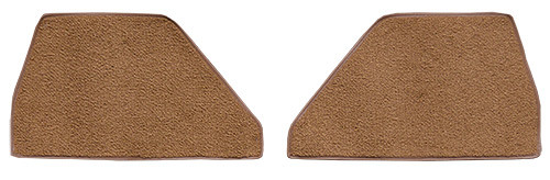 1948-1952 Ford F4 Kick Panel Inserts without Cardboard Carpet