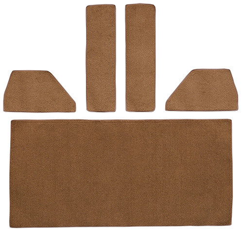 1949-1952 Ford F4 Rear Cab Wall, Door & Kick Panels Carpet