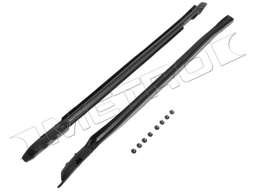1969-1972 GM A-Body Convertible A-Pillar Post Weather Strip- Pair