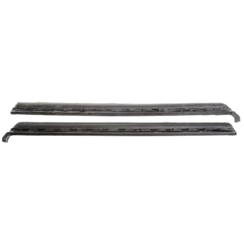 1969-1970 GM Full-size Coupe & Convertible Quarter Window Leading Edge Weather Strip, Pair
