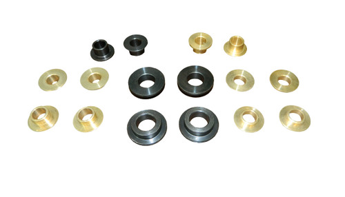 16 Piece Bushing Set Bronze and Steel 1971-76 Full Size GM top frame