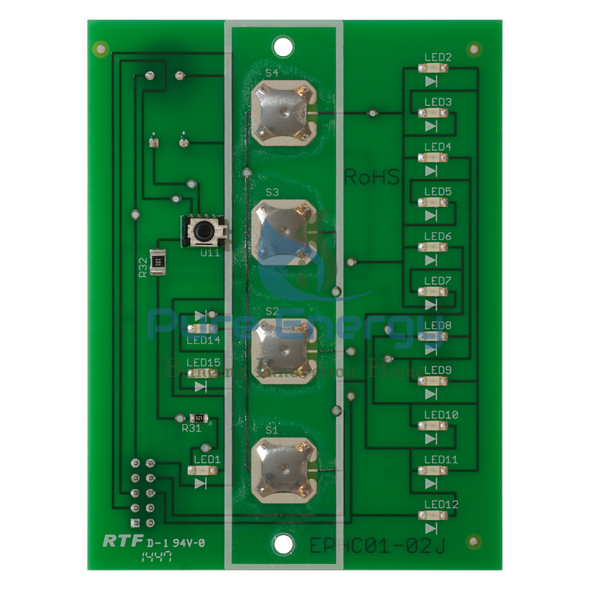 EdenPURE Front Control Board US011