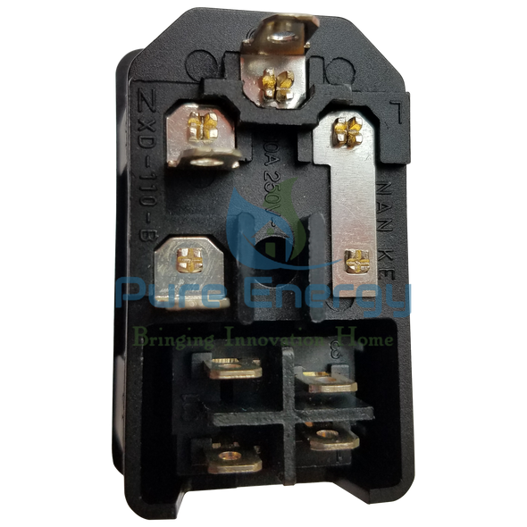 O3 PURE Whole House Air Purifier Replacement Power Switch and Fuse Holder