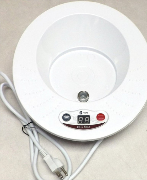 Replacement Base for the O3 PURE Elite 50 KT Ozone Fruit and Vegetable Washer