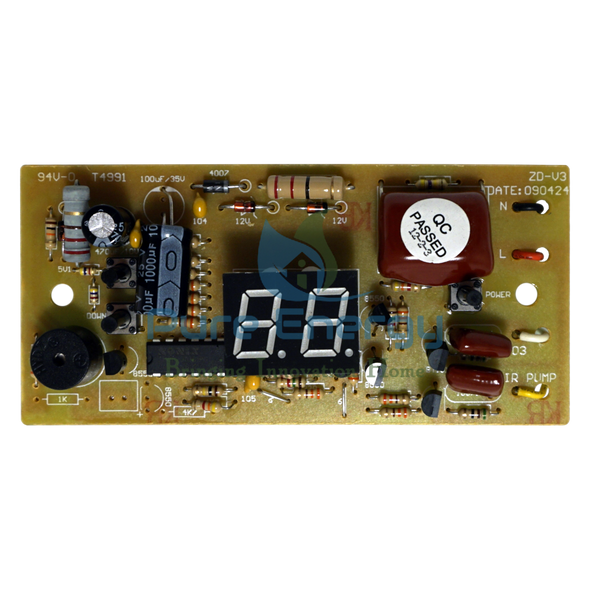Replacement Board for the O3 PURE Elite 50 KT Ozone Fruit and Vegetable Washer