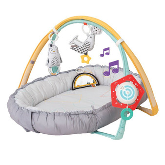 Taf Toys 4 in 1 Music & Light Thickly Padded Newborn Cozy Mat | Interactive Baby Mat. Baby's Activity & Entertainment Center, for Easier Development and Easier Parenting