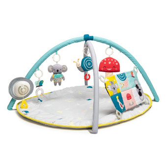 "Taf Toys 4 in 1 Music and Light All Around Me Baby Activity Gym Thickly Padded with Soft Mat and a Unique ""Sensi-Center"" for a Variety of Body Positioning for Newborn and Up"