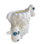 Lily's Home Fun Toothbrush Holder for Kids - Children's Bathroom Storage Organizer for Toothpaste and Toothbrushes. Also Great Holder for Pens, Pencils and Markers (Sheep)