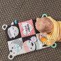 Taf Toys My Feelings Infant Crinkle Toy for Sensory Play with Lots of Activities for 2 Developmental Stages. Suitable from Birth, for Tummy-Time or Take Along Play. Aids Your Baby Sensory Development