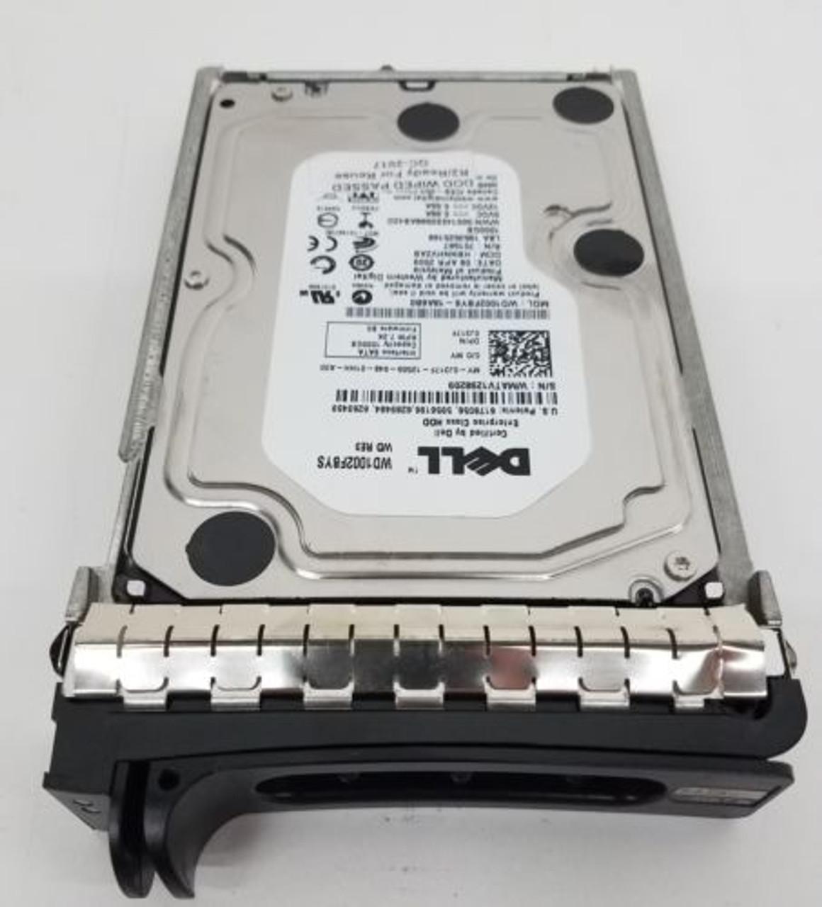 Dell J317F 1TB SATA 3.5 7200 Hard drive WD1002FBYS