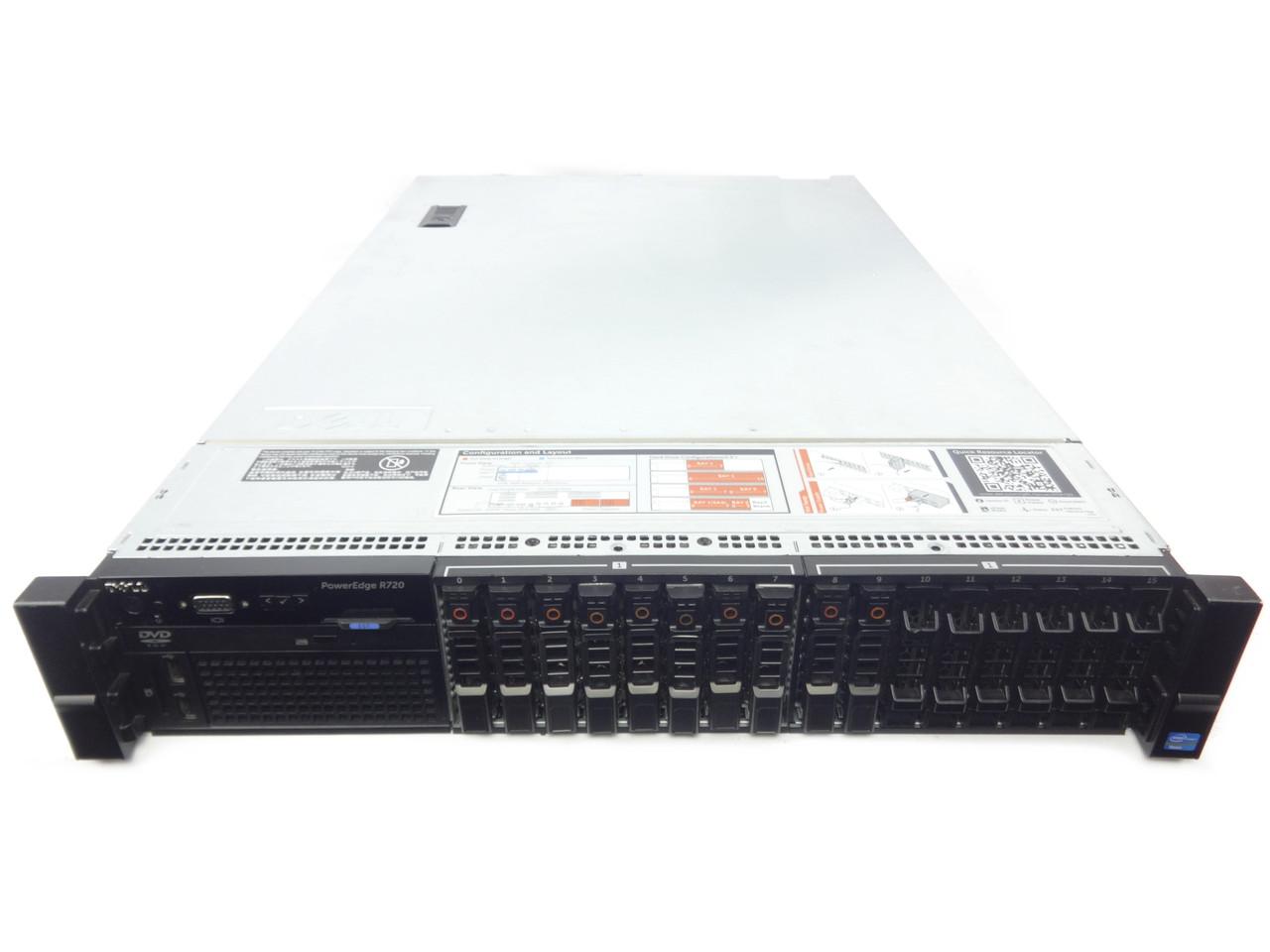 Poweredge R720 16 Bay Server