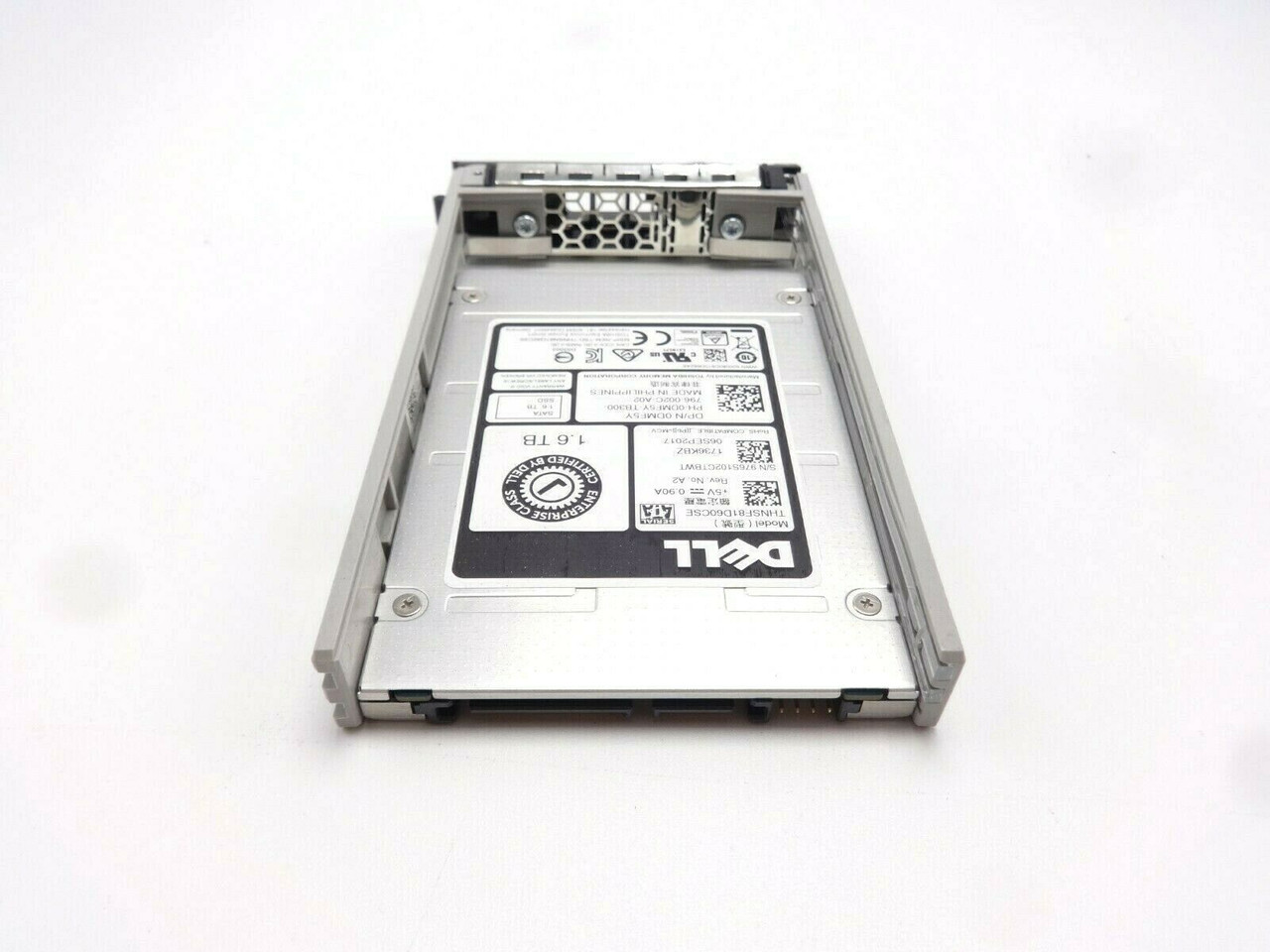 Dell DMF5Y 1.6TB 6GB/s 2.5 Small Form Factor SATA SSD Solid State Hard Drive