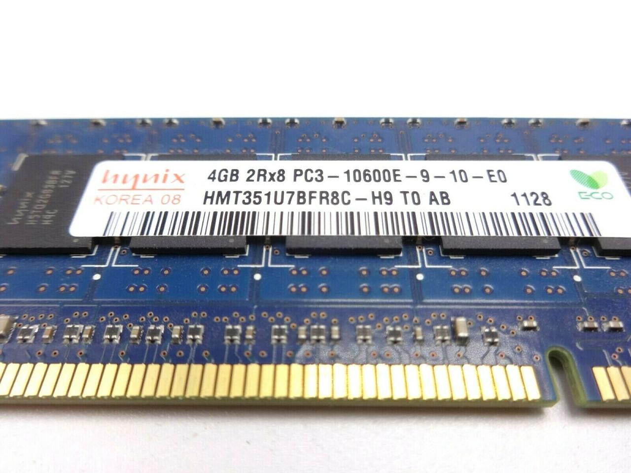 HP 500672-B21 4GB PC3 10600E 2Rx8 Server Memory module 500210-071 501541-001