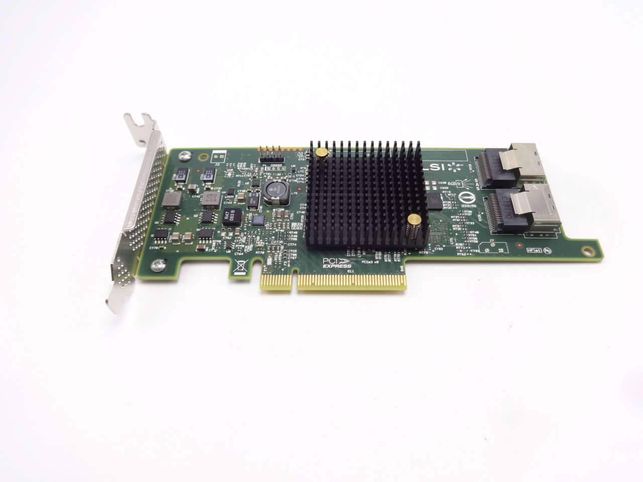 Dell 4TMJF LSI 9207-8i 6Gbps SAS | SATA PCI-e Host Bus Adapter Card