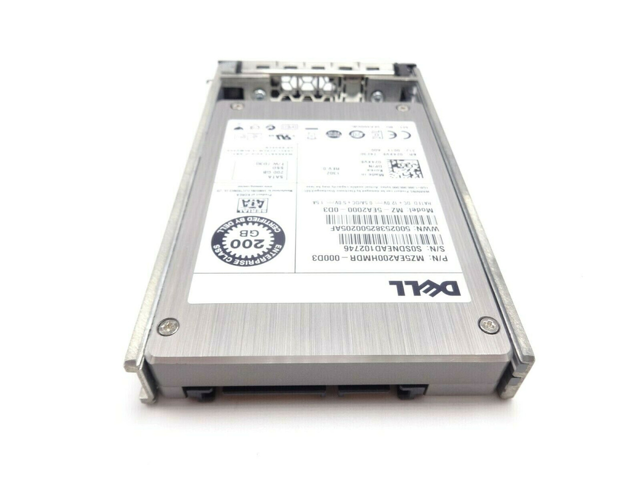 Dell 24XV8 200GB SATA SSD Solid State 3Gbps 2.5 Hard Drive