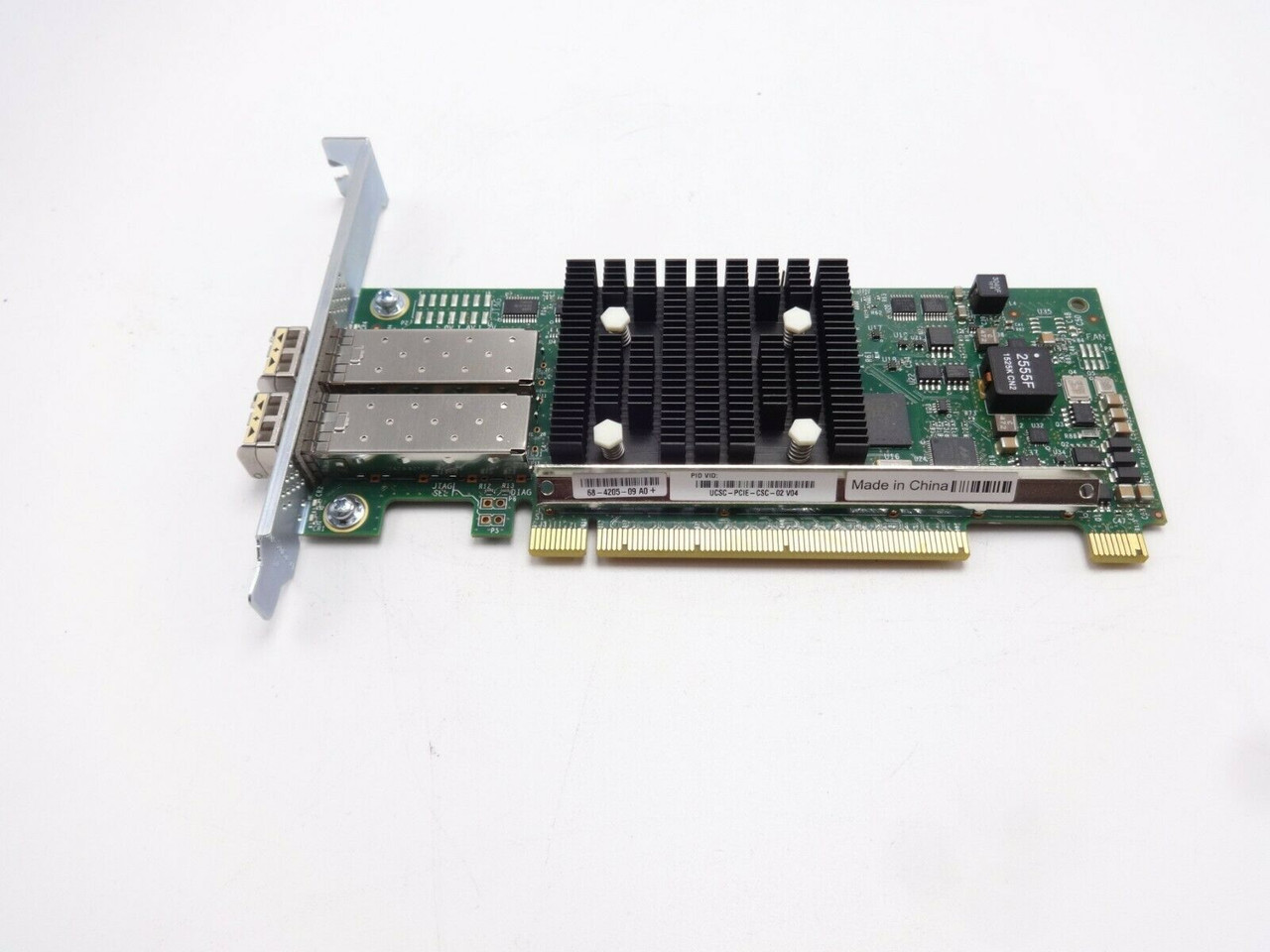 Cisco UCSC-PCIE-CSC-02 10GB Dual Port PCIe Network Adapter Card