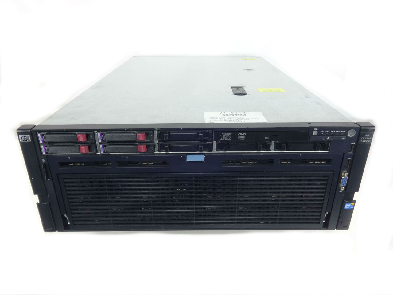"HP Proliant DL580 G7 8x 2.5"" Server"