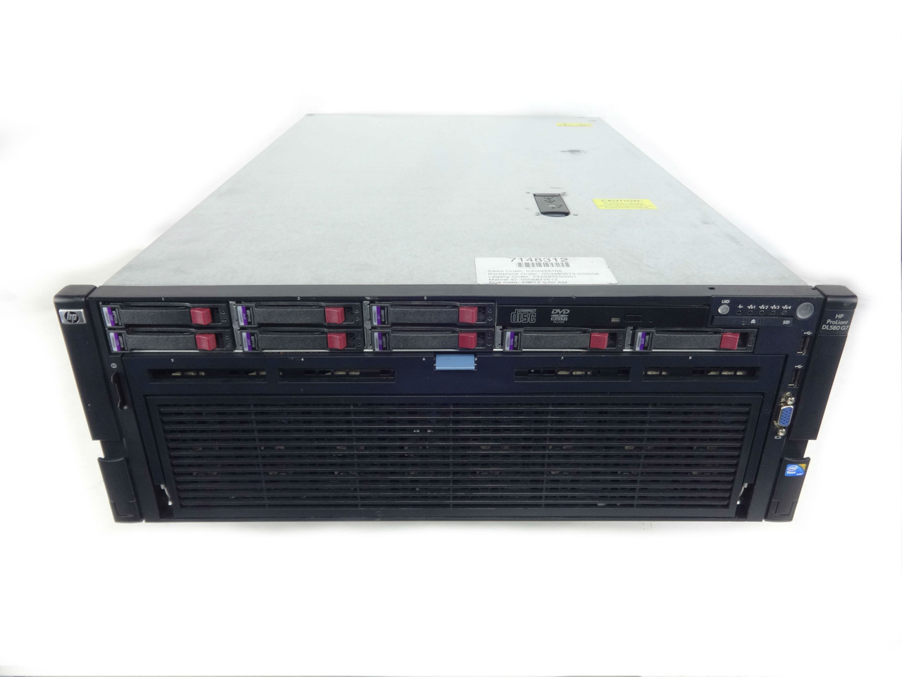 "Proliant DL580 G7 8x 2.5"" Server"