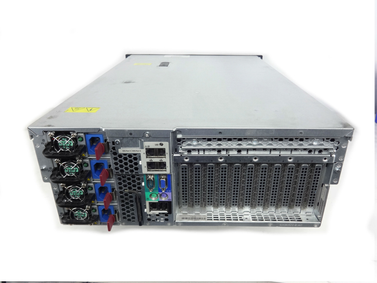 Proliant DL580 G7 Back of Machine